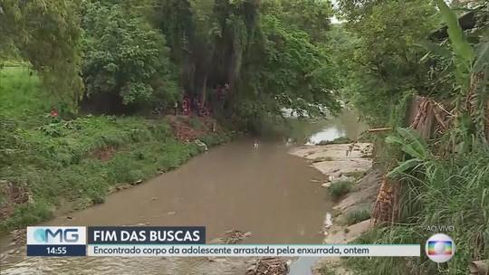 Corpo de jovem que desapareceu durante chuva em BH é encontrado