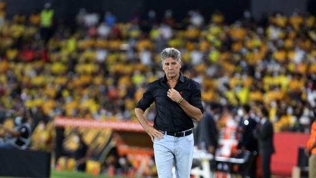 Renato Gaúcho, técnico do Flamengo