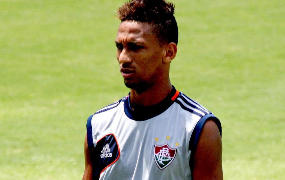 O Fluminense foi o primeiro clube de Biro Biro como profissional — Foto: Nelson Perez / Fluminense FC