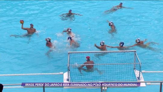 Brasil dá mole no final e perde para o Japão no polo aquático do mundial de esportes aquáticos