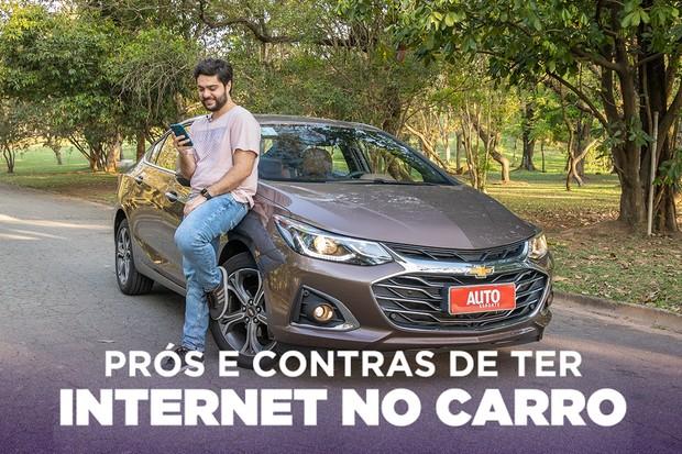 Os prós e contras de ter internet no carro (Foto: Autoesporte)