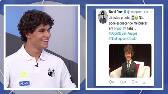 """Dodô fala sobre sucesso em redes sociais e semelhança com ator de série """"Stranger Things"""""""