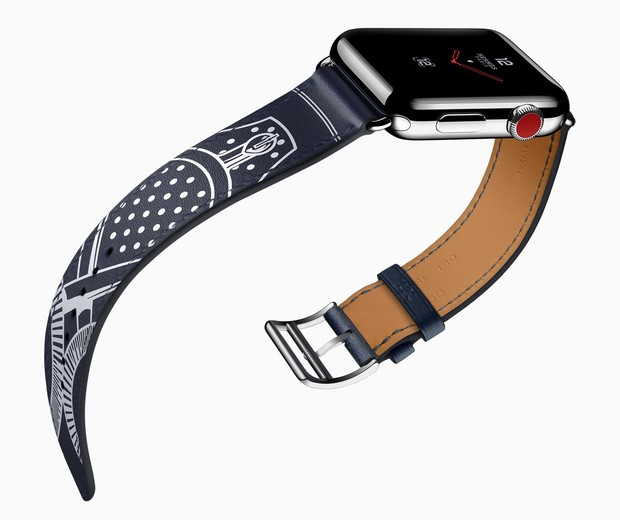 Apple Watch Hermès Series 3 Single Tour Éperon  (Foto: reprodução)