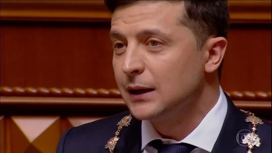 Comediante Vladimir Zelenski surpreende ao ser eleito presidente da Ucrânia