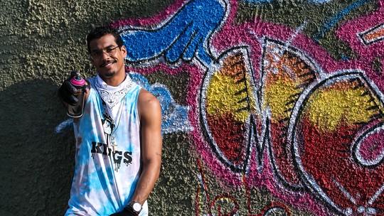 Marcello Melo Jr. mostra hobby favorito: 'O grafite me traz paz e é terapêutico'; vídeo
