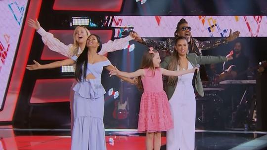 'The Voice Kids' tem emoção e muito talento no segundo dia de Audições às Cegas