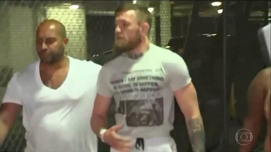 Conor McGregor é preso nos Estados Unidos por quebrar celular de fã