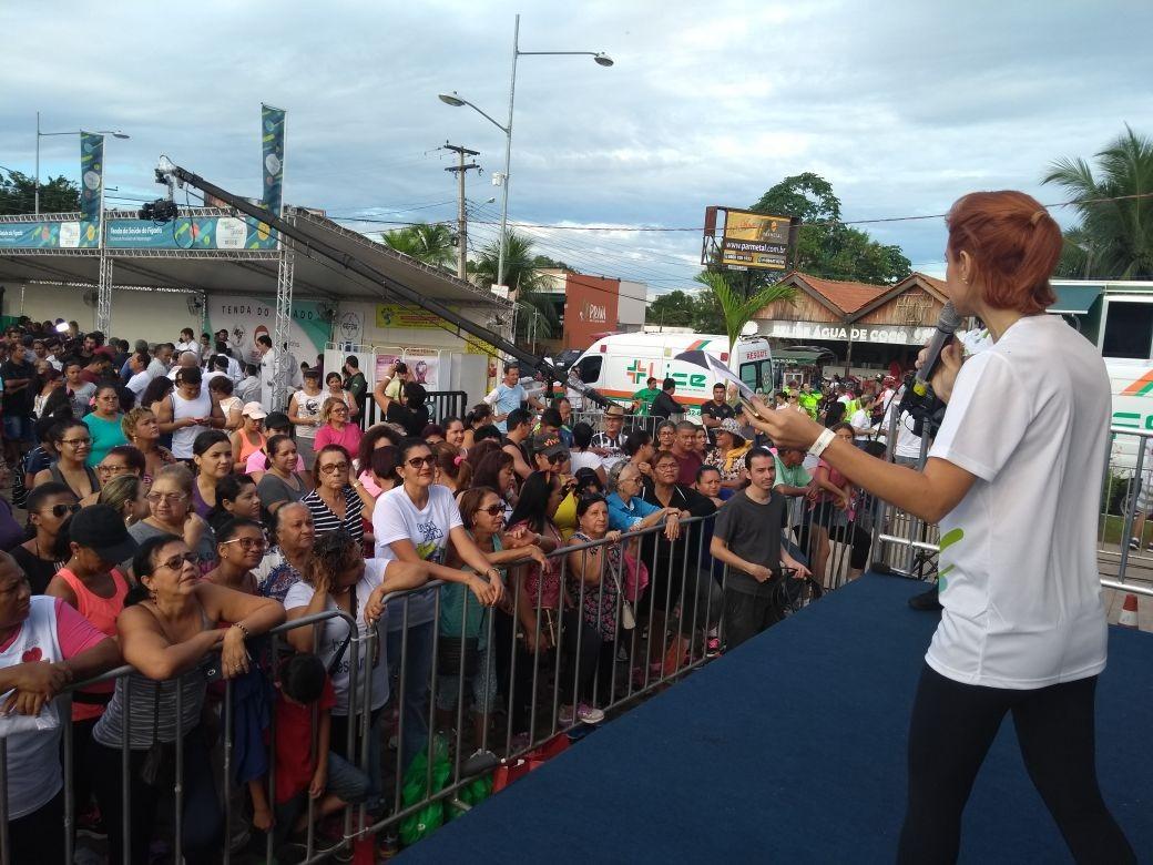 Bem Estar Global inicia em Porto Velho com público animado