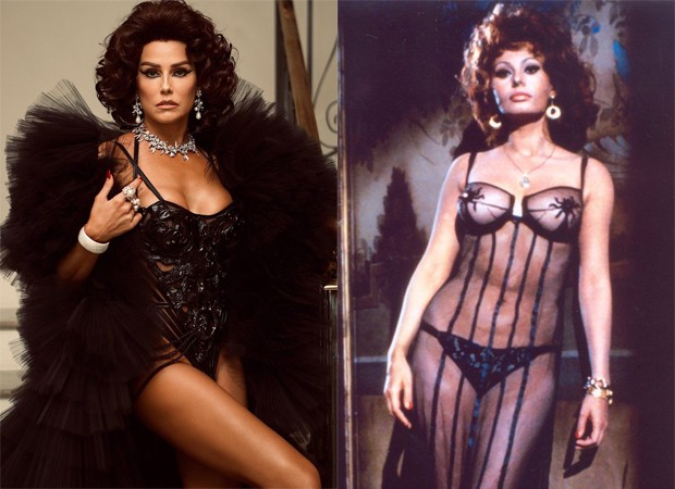 Deborah Secco e Sophia Loren (Foto: Reprodução/Instagram)