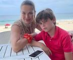 Letícia Birkheuer e o filho | Reprodução Instagram