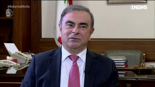 Ghosn pede pensão à Renault, alegando que carta de renúncia não tem validade, diz jornal