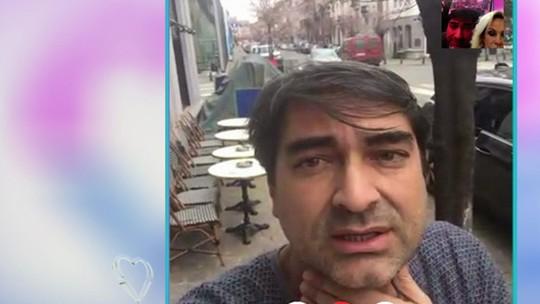 Zeca Camargo relata situação em Bruxelas após atentados: 'Medo de que ainda aconteça alguma coisa'
