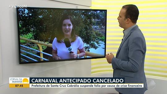 Crise financeira: prefeitura cancela o carnaval antecipado de Santa Cruz Cabrália