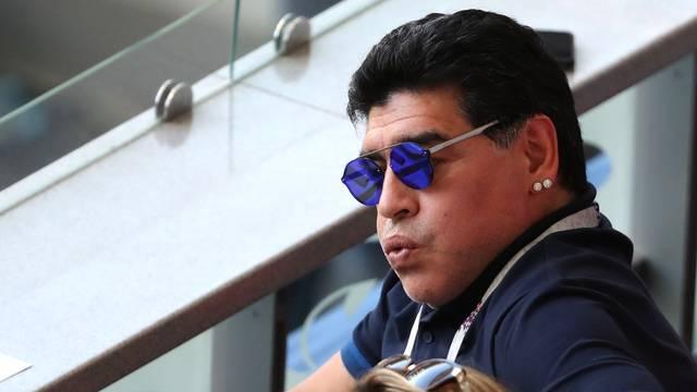 Maradona lamenta o resultado