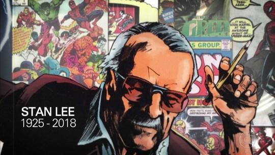 Fantástico presta uma homenagem a Stan Lee