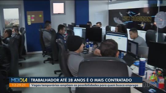 Paraná deve abrir 5,8 mil vagas temporárias de trabalho até dezembro, diz pesquisa