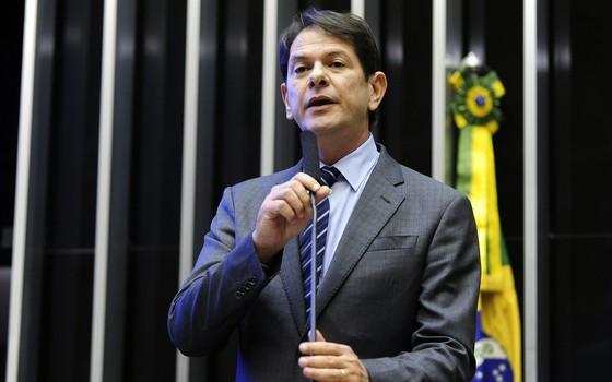 Cid Gomes critica deputados aliados ao governo: 'larguem o osso e saiam' (Foto: Gustavo Lima / Câmara dos Deputados)