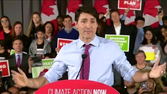 Crise política arranha imagem do primeiro-ministro do Canadá