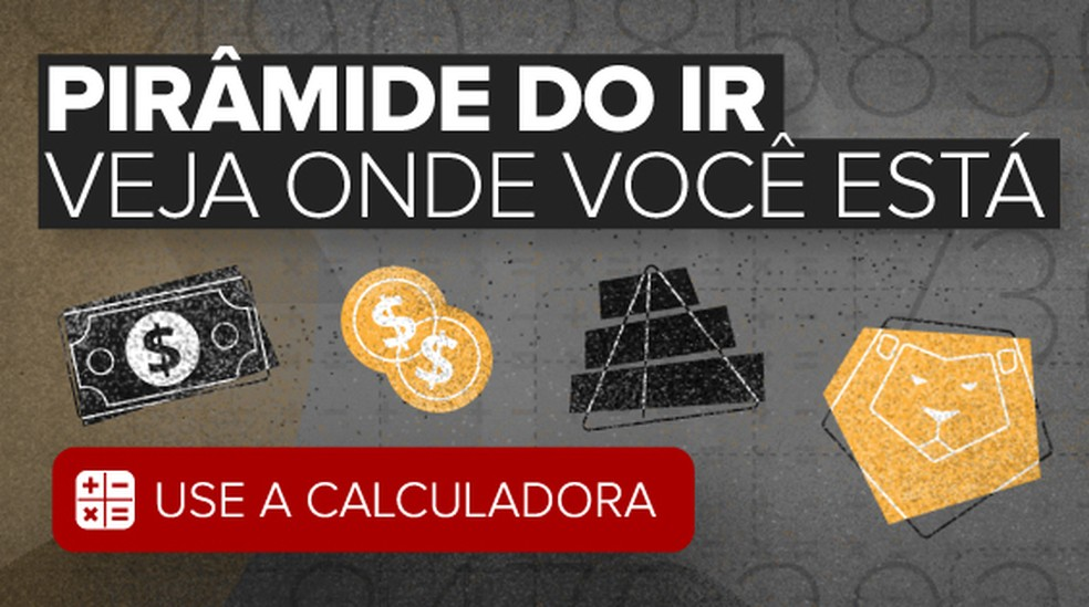 Calculadora elaborada pelo G1 a partir dos dados da Receita Federal mostram distorções na tributação de imposto de renda no Brasil (Foto: Infografia G1)