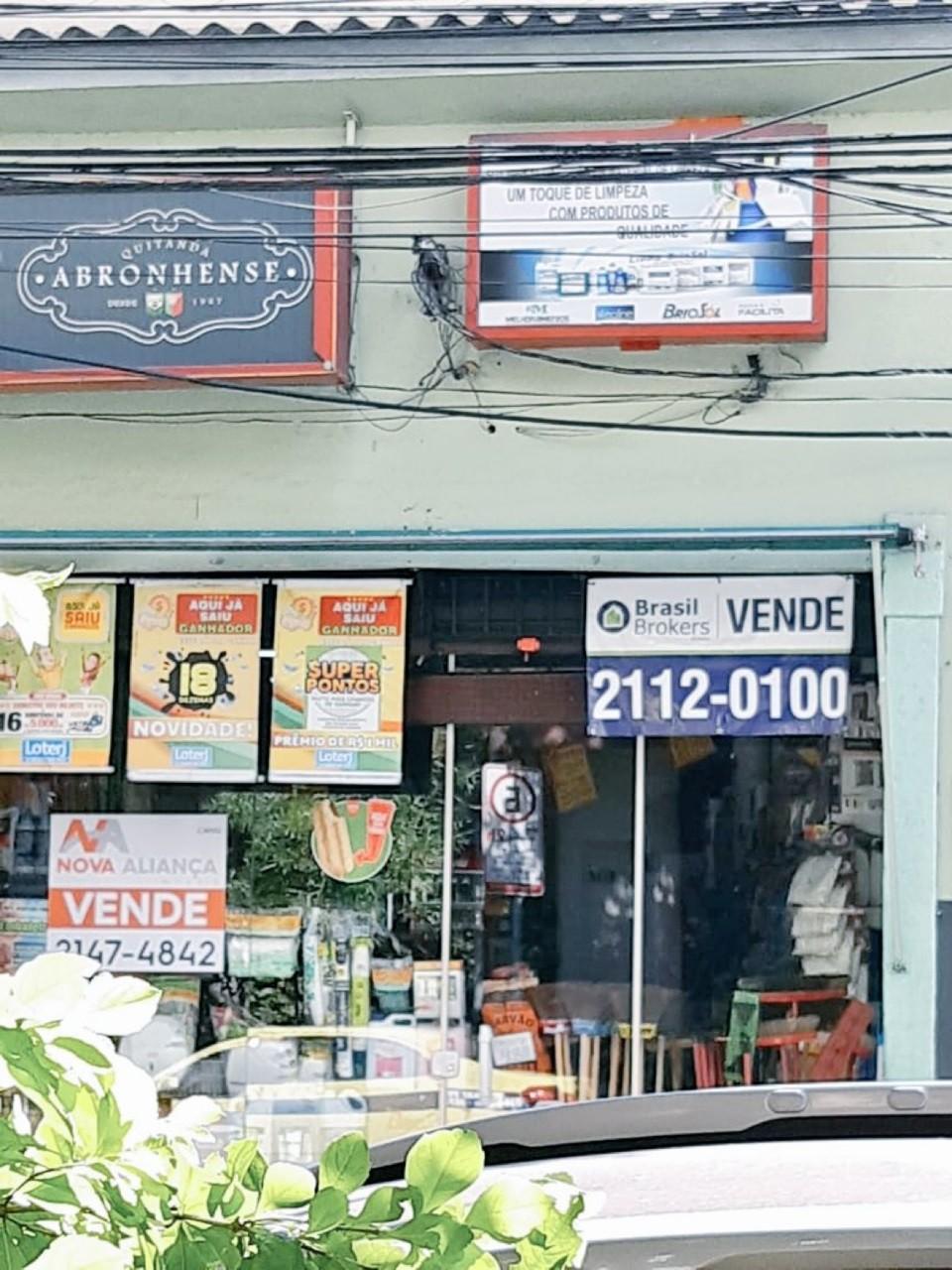 A quitanda sofre com a crise do Rio