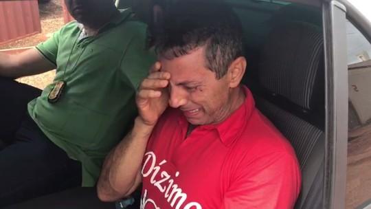 Empresário sequestrado chora ao ser resgatado por policiais em Águas Lindas de Goiás; vídeo