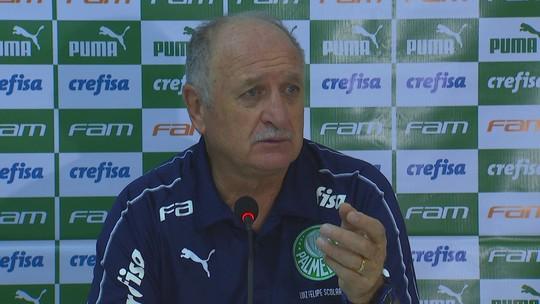 """Felipão vê atuação abaixo dos reservas do Palmeiras, mas diz: """"Vencemos o jogo, está bom"""""""