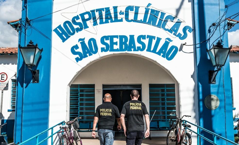 PF fez buscas no Hospital das Clínicas (Foto: Celso Moraes/ Arquivo Pessoal)