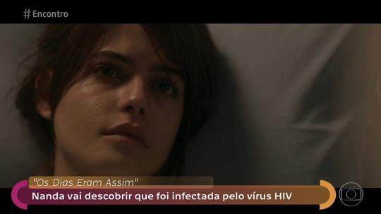 Julia Dalavia debate HIV no 'Encontro': 'Falar disso é levar informação para minha geração'