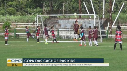 Sub-11 do Flamengo-RR é campeão invicto da Copa das Cachoeiras; Sub-9 é vice