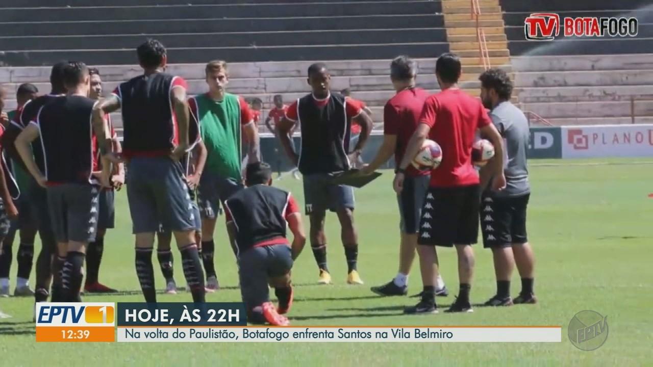 Botafogo-SP enfrenta Santos pelo Campeonato Paulista