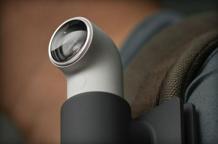 Nova RECamera da HTC tem o formato de um periscópio (Foto: Divulgação)
