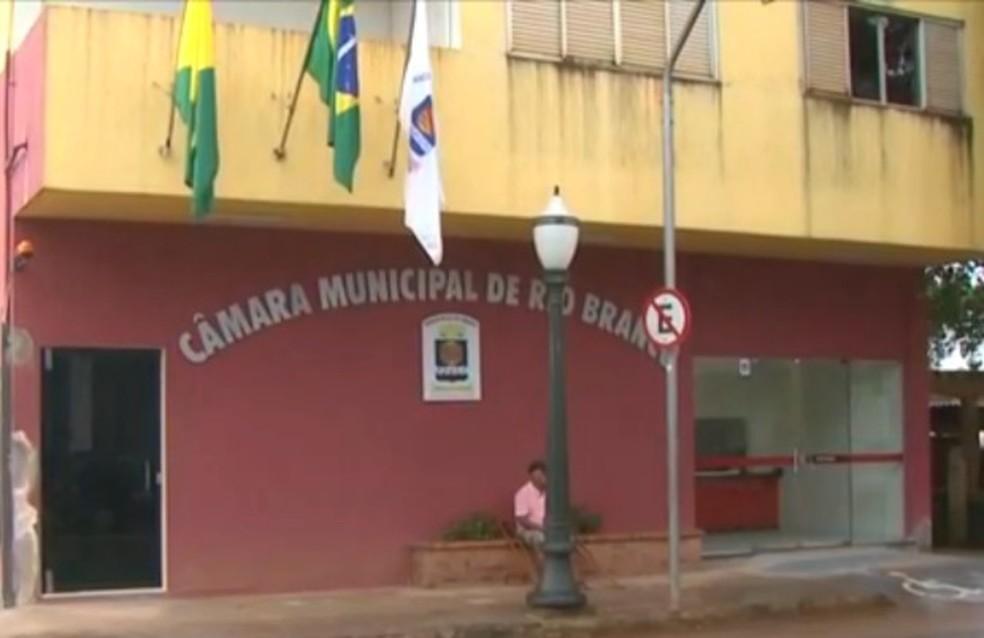 Projeto de Lei foi aprovado na sessão desta quarta-feira (11), na Câmara de Vereadores de Rio Branco — Foto: Reprodução/Rede Amazônica Acre