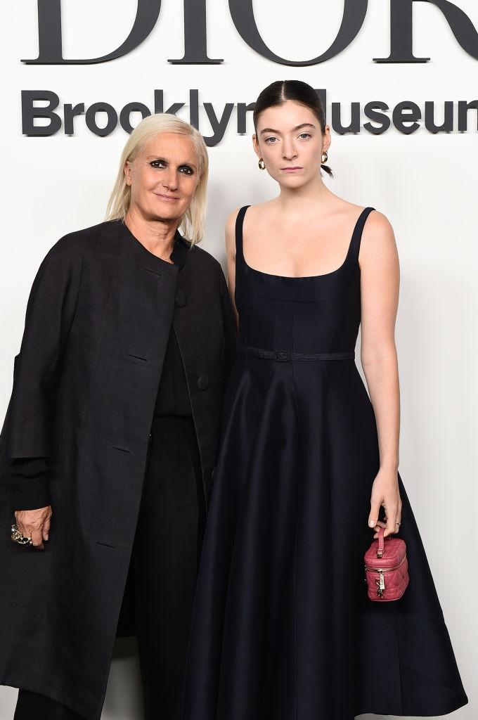 Maria Grazia Chiuri e Lorde  (Foto: Getty Images)