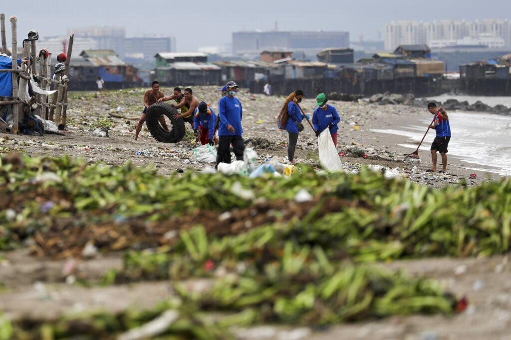 Filipinas retiram quase 1,8 mil pessoas de casa com aproximação de nova tempestade tropical