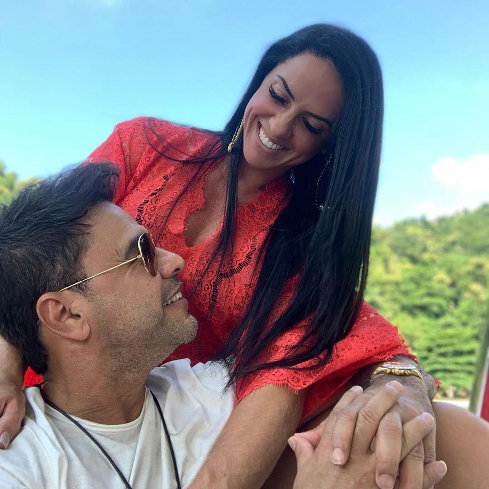 Zezé di Camargo e Graciele Lacerda estão juntos há 5 anos â?? Foto: Reprodução/Internet
