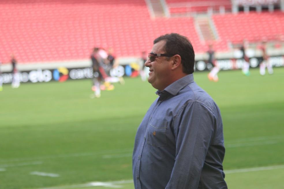 Carlos Pellegrini, ex-vice de Futebol do Inter — Foto: Tomás Hammes