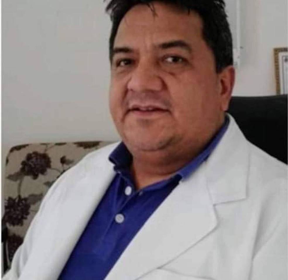 Médico Valentim Neder morreu de Covid-19 em MT — Foto: Divulgação