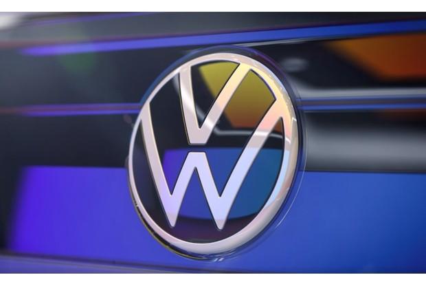 Logotipo Volkswagen Nivus (Foto: Divulgação)