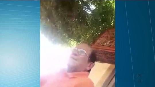 Juiz pede investigação de vídeo de ex-vereador retirando caixa d'água doada a comunidade na PB