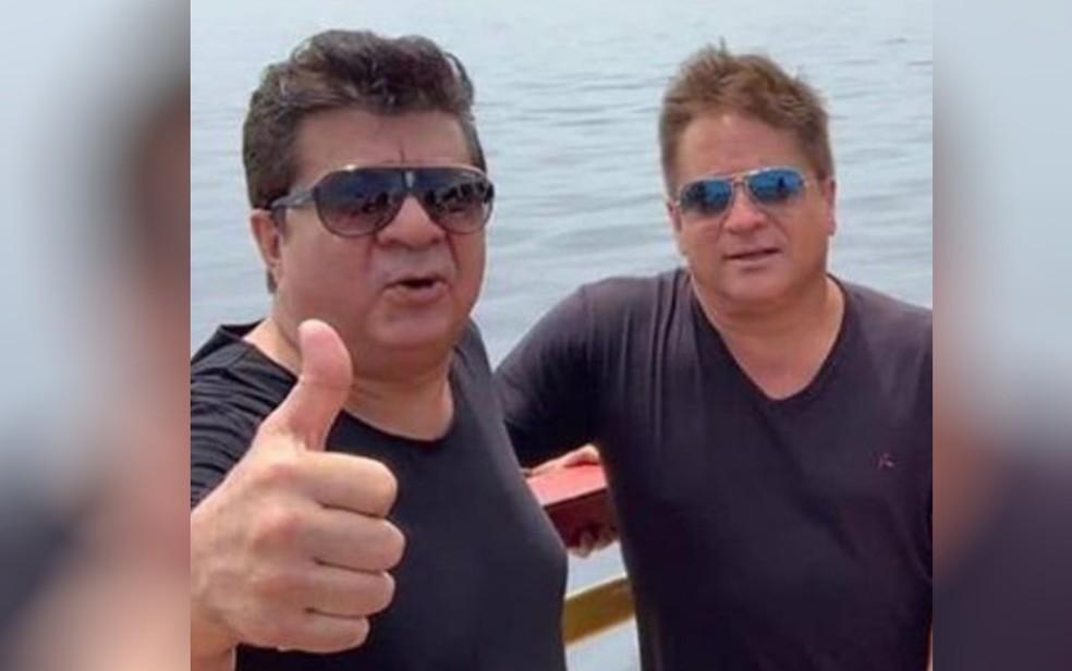 Assessor do cantor Leonardo morre em fazenda do artista em Jussara, Goiás — Foto: Reprodução/Instagram