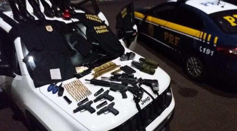 Após perseguição, PRF apreende fuzis com dois foragidos na BR-290, em Osório - Notícias - Plantão Diário