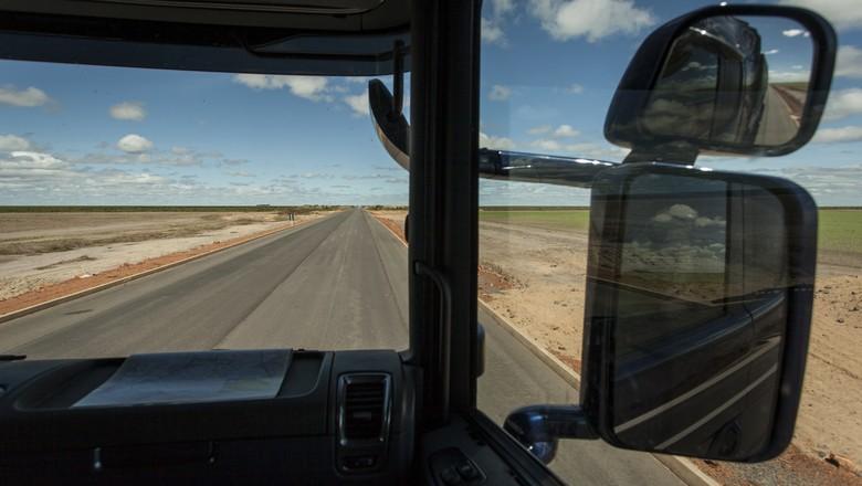 estrada-caminhos-logistica-terra (Foto: Marcelo Curia/Ed.Globo)