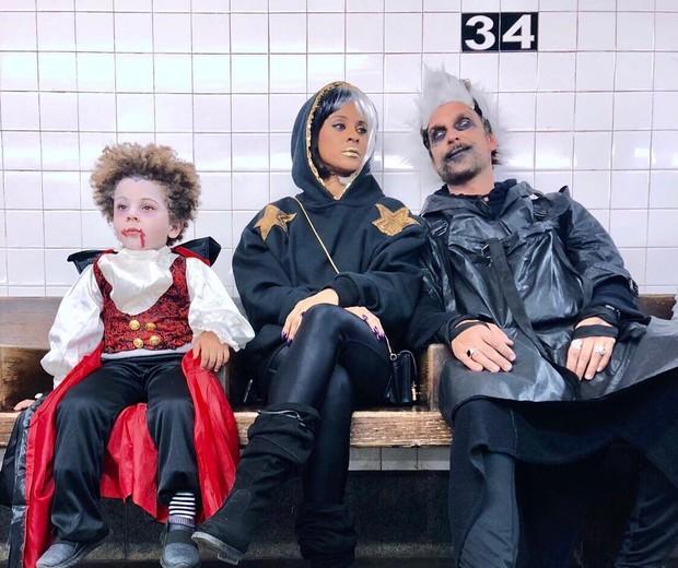 Antônio, Aline Wirley e Igor Rickli (Foto: Reprodução/Instagram)