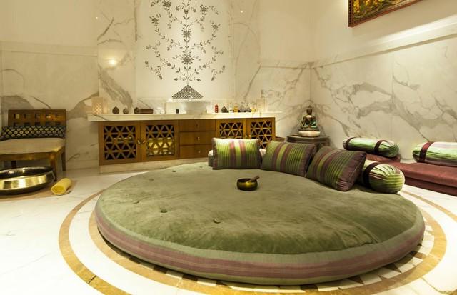 O spa do The Imperial, em Nova Delhi (Foto: divulgação)