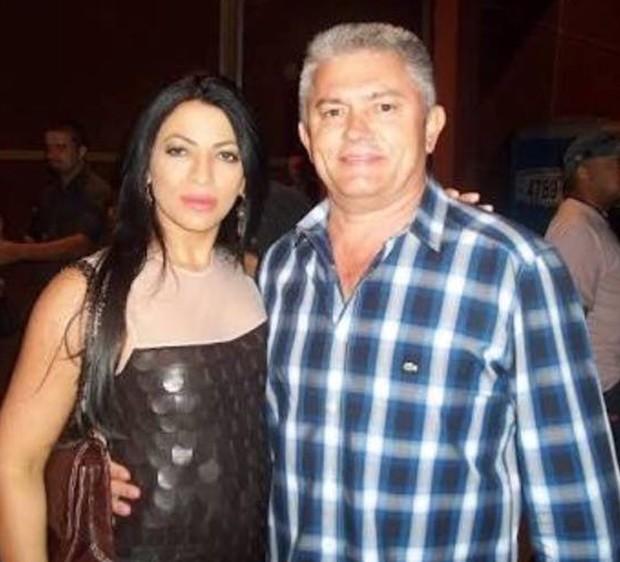 Sylvia Design e Alexandre Araújo (Foto: Arquivo pessoal)