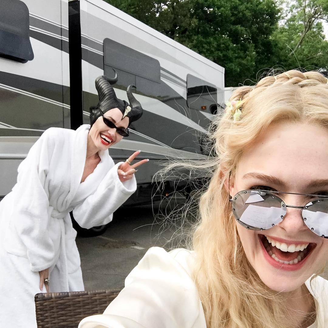 Angelina e Elle (Foto: Reprodução/Instagram)