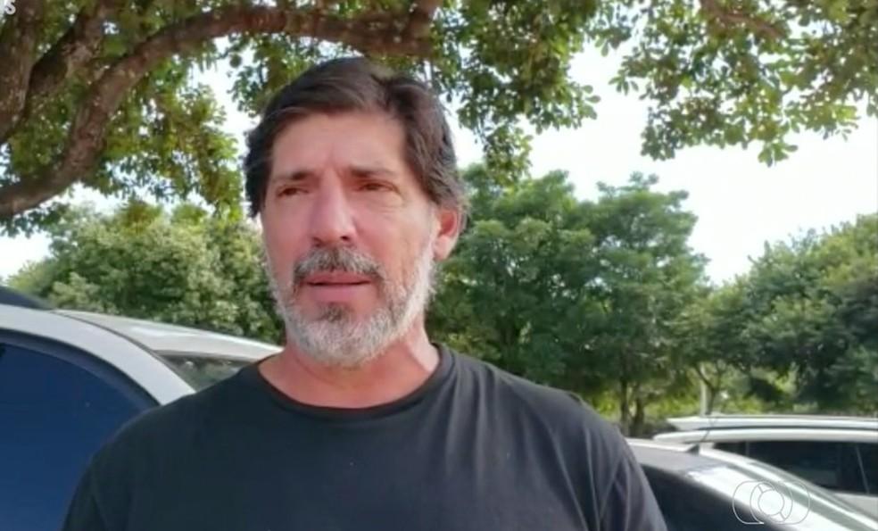 Wilson Gottardo deixa o Palmas — Foto: Reprodução/TV Anhanguera