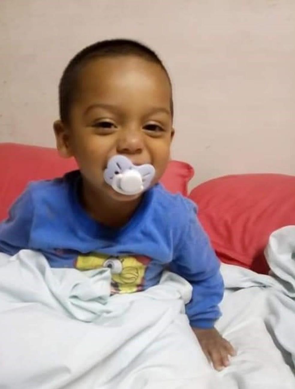 Mãe conta que Cassiel estava sempre sorrindo — Foto: Arquivo pessoal
