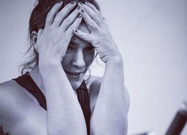 Priscila Fantin compartilha desespero ao malhar no sábado  (Foto: reprodução instagram)