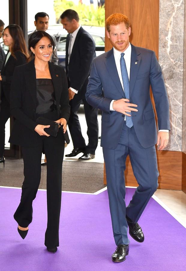 Meghan Markle e o príncipe Harry (Foto: Reprodução/Instagram)